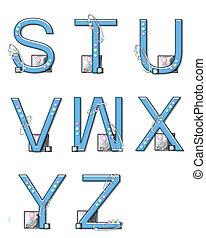 Alphabet Mod Elements S to Z
