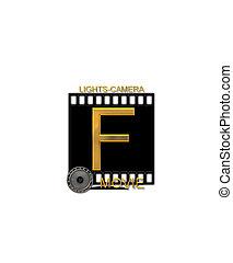 Alphabet Movie Bluff F