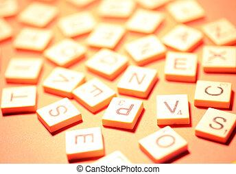 alphabet, nombres