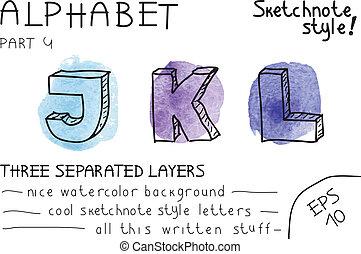 Alphabet - Part 1