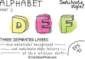 Alphabet - Part 2