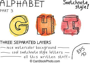 Alphabet - Part 3