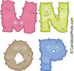 Alphabet Plush Toys