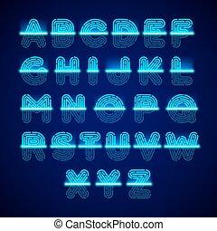 alphabet, scanner, fingerabdruck