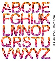 Alphabet Set capital letters