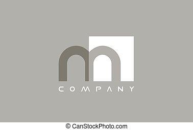 Alphabet small letter m logo icon design - Alphabet m small...
