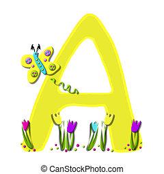 Alphabet Spring has Sprung A
