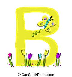 Alphabet Spring has Sprung B