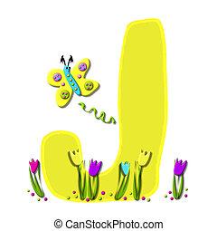 Alphabet Spring has Sprung J