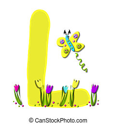 Alphabet Spring has Sprung L