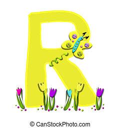 Alphabet Spring has Sprung R