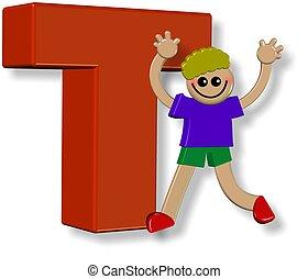 Alphabet T Boy