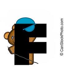 Alphabet Teddy Dental Checkup F
