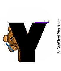 Alphabet Teddy Dental Checkup YY