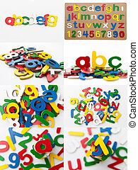 Alphabet Toy Board