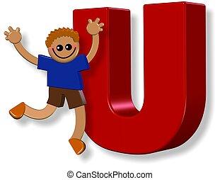 Alphabet U Boy