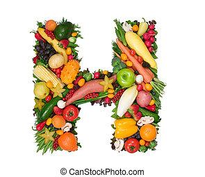alphabet, von, gesundheit