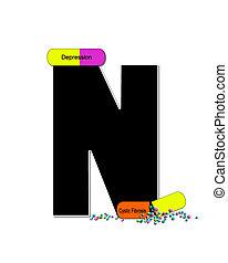 Alphabet Wellness Check N