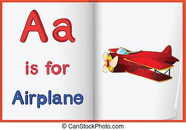 Alphabet worksheet for the letter A