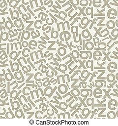 Alphabetic background