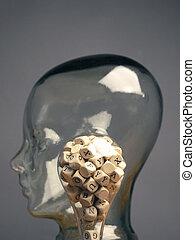alphabetically, 立方体, ライト, たくさん, ラベルをはられた, 木製である, 電球