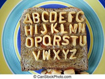 alphabetti spaghetti