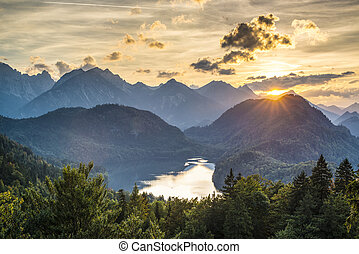 alpi, bavarese