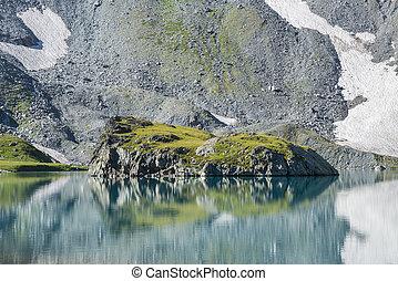 alpin insjö