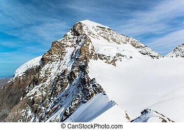 landscape at Jungfraujoch