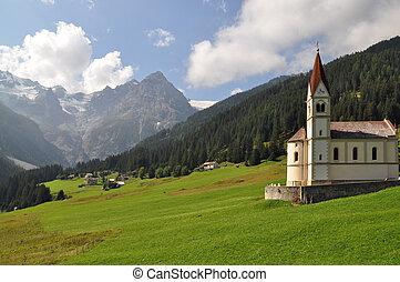 Alpine cultural landscape - Alpine landscape formed by ...