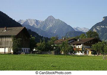 Alpine Farm - A farm in alpine Austria