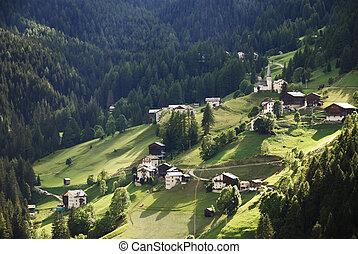 Alpine Farming Village