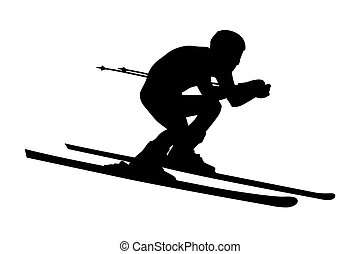 alpine skier athlete