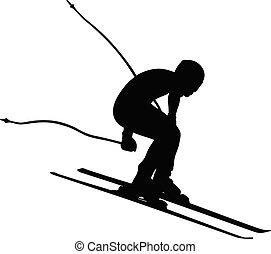 alpine skiing men downhill