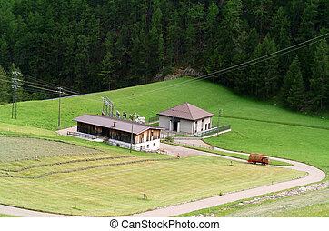 Alpine style houses