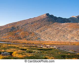 Alpine Summer in the Rockies - Beautiful Summit Lake...