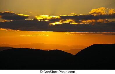 Alpine Summer Sunset #4