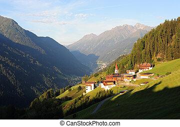 alpine village