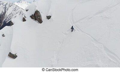 alpinisme, 4k, randonnée, personne, hiver, équipement, ...