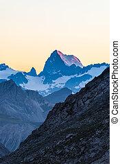 alpino, crepuscolo