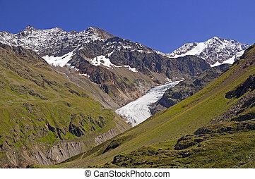 alps austrian, em, kaunertal, tirol