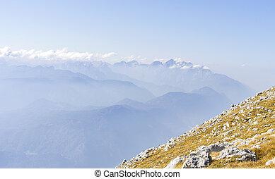 alps, bergpanorama