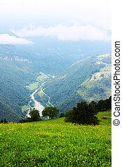 alps, erstaunlich, ladnscape