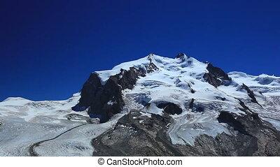 Alps high mountains.