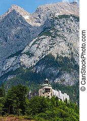 Alps Hohenwerfen Castle, Austria