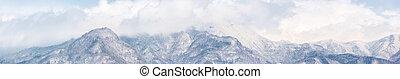 alps, japan, panorama
