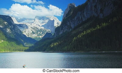 Alps mountains. - Alps mountains landscape.