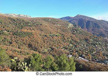 Alps near Gourdon, South of France