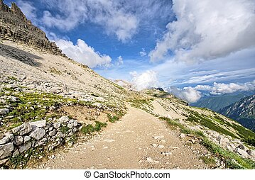 Alps - Italian alps landscape