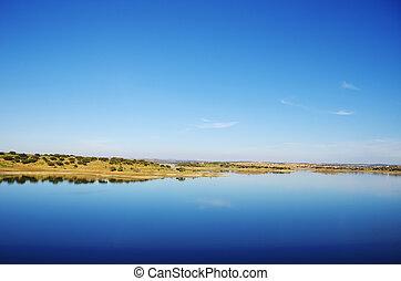 Alqueva Lake, alentejo region, Portugal